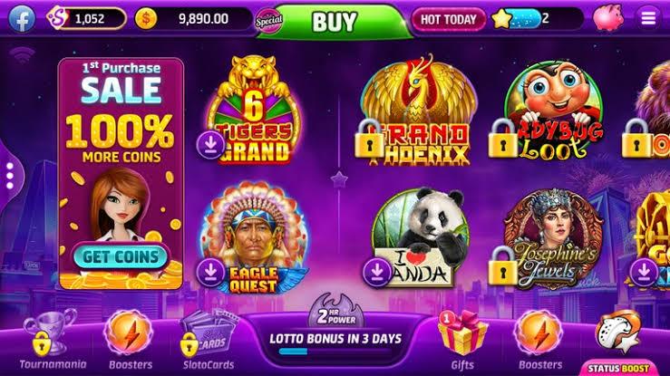 Judi Slotomania - Vegas Slots Casino